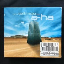 A-HA Minor Earth Major Box RARE 1ST LIMITED EDITION 2001 EUROPE 4 CD SINGLE SET