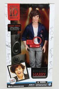 """One Direction Harry Styles Singing Doll 12"""" NEW in BOX Collectible 1D HTF IN303"""