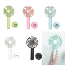 5Pcs Handheld Mini Battery Operated Face Fan Powerful Small Fan for Travel