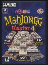 MAHJONGG Master 4 - CD rom - PC Game - nuovo
