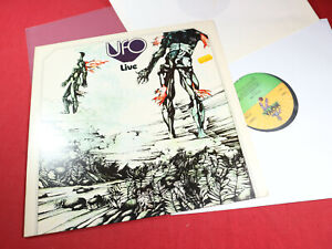 Ufo  LIVE  -  LP Nova 6.21454 AS Germany sehr gut