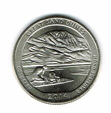 2014-D Brilliant Uncirculated Great San Dunes National Park Quarter Coin!