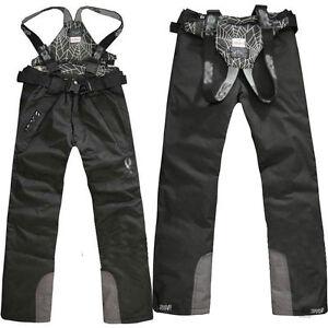 Men's Ski Snow Pants Outdoor Waterproof Trousers Salopettes Trousers Winter New