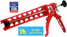 Rapide Caulking Gun 300ml Silicone Skeleton Mastic Adhesive Sealants Applicator