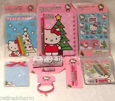 ❤️HELLO KITTY LOT 😺 Christmas 🎄 Stocking Stuffers Party Favors NEW 8 pc  #1❤️