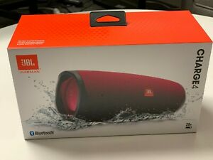 JBL Charge 4 Bluetooth Portable Speaker System - Magenta**100 Authentic**