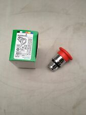 SCHNEIDER ELECTRIC ZB4BS844BA Harmony E-Stop, Twist to Reset, Red