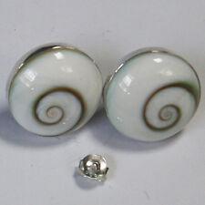 Shiva Eye Earrings Sterling silver