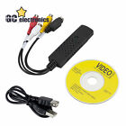 Easycap USB 2.0 TV Video Audio VHS to DVD Converter Capture Card Adapter A3GU