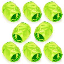 "Bright Green Curling Ribbon Eggs 8/pk Total 524 ft x 3/16"" Gift Wrap _3277"