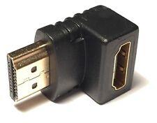 K&S HDMI Winkeladapter 90° Grad Winkel Adapter Winkelstecker 1080p Full HD 4K