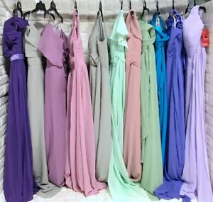 Wholesale Lot of 13pcs Women's Prom Bridesmaid dresses Formal Party Gown dress
