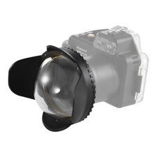 MEIKON Fisheye Wide Angle Lens Dome Port Shade Cover for Camera Diving Housing