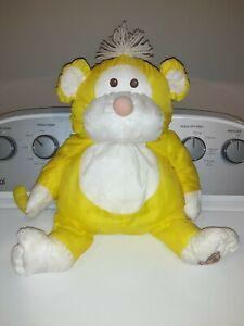 Vintage 1987 Fisher Price Puffalump Yellow Monkey CLEAN!