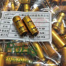 Taiwan CDA CHV-2R7206R-TW 2.7V 20F super capacitor low leakage 2.7V20F 2PCS