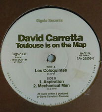 David Carretta – Toulouse Is On The Map Techno Industrial - FAST SHIPPING!!!!!