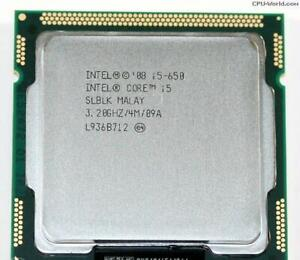 Intel i5-650 3.2GHz 4MB socket 1156