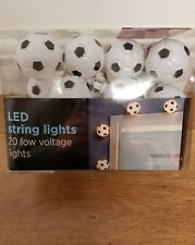 new led plug in football string lights