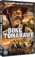 Hueso Tomahawk Kurt Russell Patrick Wilson Matthew Fox The Obras GB DVD L. Nuevo