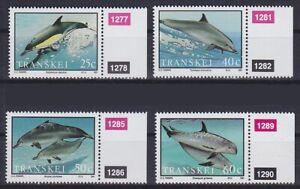 Dolphins Dolphin 1991 Transkei Mi No. 267 - 270, Mint, MNH