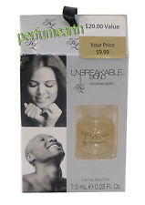 UNBREAKABLE BOND .25 OZ EDT SPLASH MINI UNISEX BY KHLOE AND LAMAR NEW IN A BOX