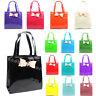 New Ladies Designer Bow Tote Shopper Bag