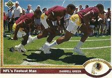 Upper Deck Washington Redskins Football Cards