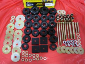 Body Cab Mount Bushing Cushion Kit Set 67-72 2WD 4WD Chevy GMC Suburban 34149