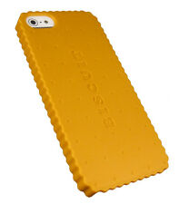 IPhone 5 Biscuit galleta móvil cartera, funda rígida, funda protectora, funda, protección bolsa cover amarillo