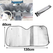 Universal Silver Foil Car Sun Shade Standard Reversible Folding Windshield Cover