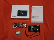 Sony Cyber-shot DSC-HX90V 18.2MP Digital Camera - Black Mint Condition
