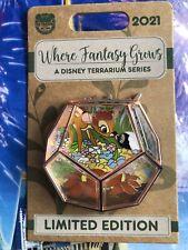 Disney Parks Pin Bambi & Flower Terrarium Where Fantasy Grows Series Le 4000