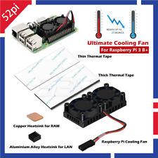 Retroflag Dual Fan Cooling Kit With Heatsink For Raspberry Pi 3 B+ / Nespi Case