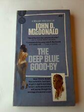 The Deep Blue Goodbye John D. MacDonald 1st Edition 1st Print McGee See Photos
