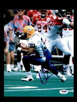 Ahman Green PSA DNA Coa Hand Signed 8x10 Packers Photo Autograph