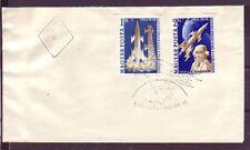 Ungarn 1961.04.25  FDC  MiNr. 1753B-1754B  Jurij Alexejewitsch Gagarin
