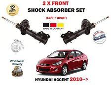 pour Hyundai Accent RB 1.4 1.6 ccvt CRDI GDI 2010- > 2 x AMORTISSEUR AVANT SET