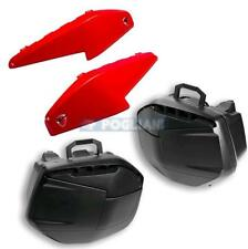 KIT VALIGIE RIGIDE LATERALI + COVER ROSSE ORIGINALI PER DUCATI MULTISTRADA