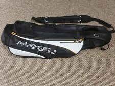 Maxfli Sunday Golf Club Bag Light Weight Collapsable Pockets Comfort Carry Euc