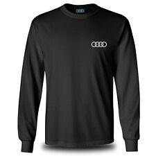 Genuine Audi RS5 Sport Car Racing Motorsport Race Black Long Sleeve Tee T-Shirt