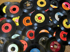 Lot of 100 UNSLEEVED 45RPM Records -- CLEAN, FREE SHIPPING