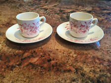 "Lot of 2  ~  Wade ""MEADOW"" England Demi-tasse cup and saucer"