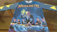 MEGADETH Rust inPeace / Long Sleeve T-Shirt / 100% Polyester - L
