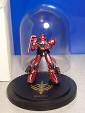 Extremely Rare MS-06JZaku Gundam Statue Mobile Fighter Gundam Zaku Red