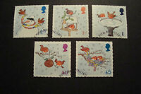 GB 2001  Commemorative Stamps~Christmas~Very Fine Used Set~UK Seller