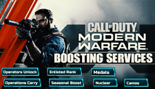 Call Of Duty Modern Warfare Boosting Serivce PC and PS4 Cod mw Nuclear killer