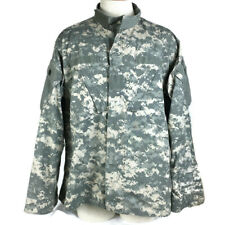 Army Combat Uniform Coat Size Large Military Issue Camo Zip Up