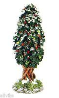 VILLAGE HOLLY TREE # 52630 Dept 56 RETIRED SNOW VILLAGE VERY DETAILED