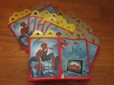 (1) 2014 McDonald's THE AMAZING SPIDER-MAN 2 HAPPY MEAL TOY BOX, ACQUIRED FLAT