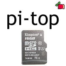 Pi-TOP preinstallato 16GB Class 10 SD CARD precaricato per Raspberry Pi